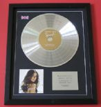 LEONA LEWIS - Spirit CD / PLATINUM PRESENTATION DISC